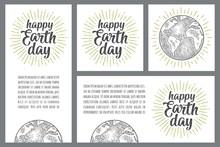 Happy Earth Day Handwriting Le...