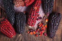 Red And Black Heirloom Corn Co...