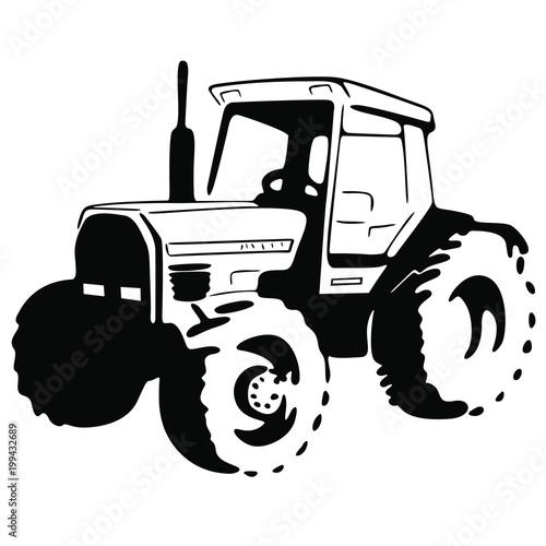 Fototapeta Traktor obraz