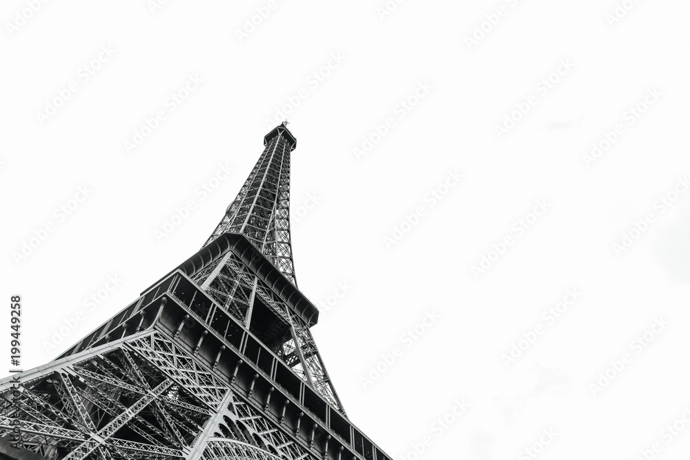 Fototapeta Eiffel tower in Paris, France