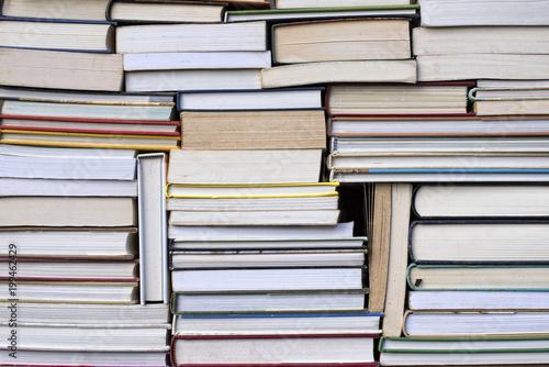 Fotografia, Obraz  Empilement de livres