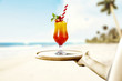Summer time and fresh cold drink