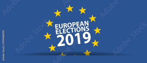 Foto  European Election 2019 - Vector Illustration