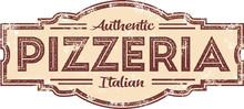 Vintage Style Pizzeria Restaur...