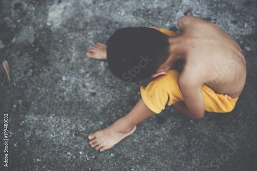 Fotografie, Obraz  Child prostitution,violence against children