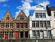 Gent: Häuser in der historischen Altstadt