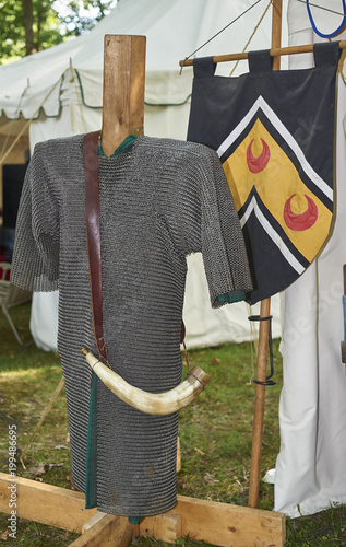 12th century armor Poster