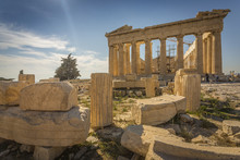View Of The Parthenon During L...