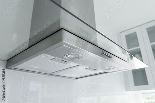 Cuadros en Lienzo Kitchen hood in the interior