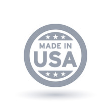Made In USA Icon In Circle Out...