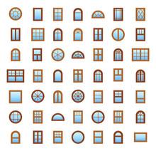 Wooden Windows. Architecture E...