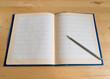 Schule, Grundschule Heft, Bleistift, leere Seite, Schulbeginn