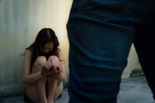 Female Victim Of Rape Or Viole...