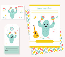 Party Invitation Template With...
