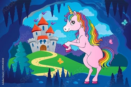 Photo Stands kids room Standing unicorn theme image 5