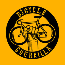 Bicycle Guerrilla Sign Of Bike...