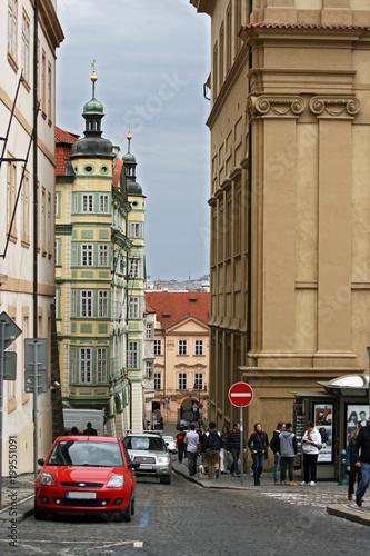 Fototapeta Streets of Prague, Czech Republic obraz na płótnie