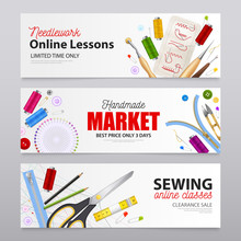 Sewing Realistic Banners