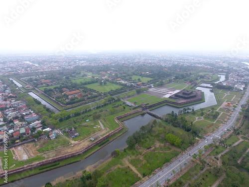 Poster Cracovie World Heritage : Hue, Vietnam : Drone View