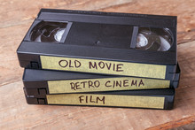 Cassettes VHS With Old Films O...