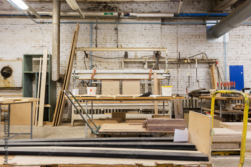 Production Manufacture And Woodworking Industry Concept Furniture