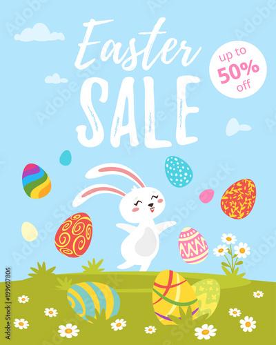 Fotografía  Easter Sale banner