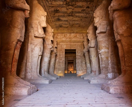 Foto  Abu Simbel in Egypt