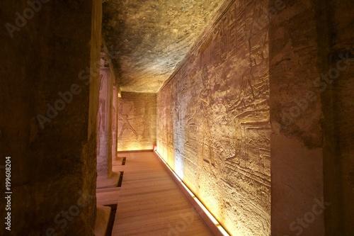 Fotografia, Obraz  Abu Simbel in Egypt