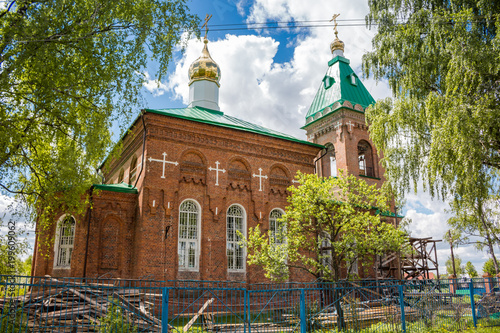 Papiers peints Edifice religieux Old church of Saint Nicholas in the village of Peredol, Russia