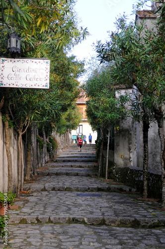 Foto op Aluminium Grijze traf. 南イタリア、アマルフィの風景
