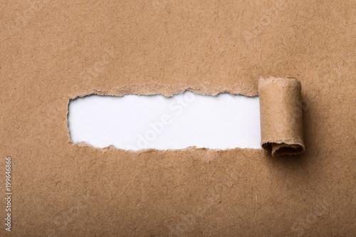 Fotografia, Obraz  Paper Tear Background