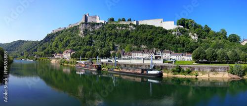 Photo La citadelle de Besançon et le doubs