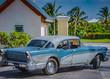 HDR Foto von einem amerikanischen historischen Auto