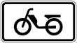 Verkehrszeichen, Sinnbild Personenkraftwagen mit Anhänger