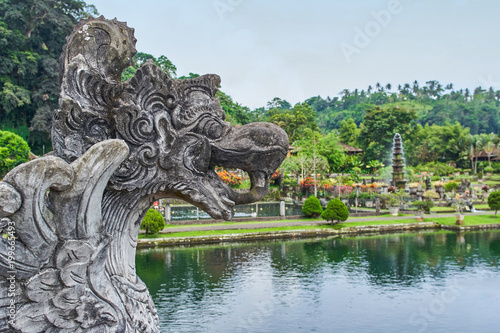 Papiers peints Commemoratif Scary mythology statue in Tirta Gangga water palace on Bali island, Indonesia