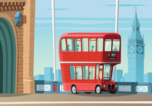 London Double Decker Bus On To...