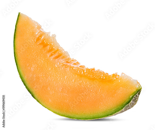 Fototapeta melon isolated on white background