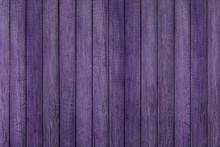 Purple Grunge Wood Pattern Texture Background, Wooden Planks.