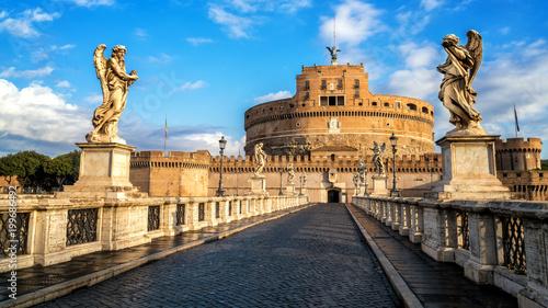 Foto op Aluminium Rome Castel Sant Angelo in Rome , Italy
