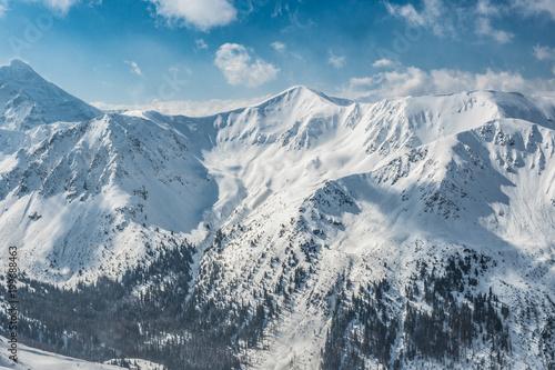 Tuinposter Bergen Kasprowy wierch High Tatras