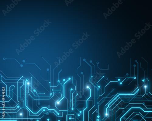 Glowing circuit wallpaper - Buy this stock photo and explore similar ...