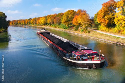 Canvas Print Herbststimmung am Wasser