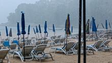 Monsone Sulla Spiaggia