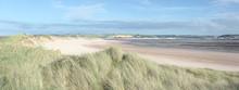 Sand Dunes At Crow Point Near Braunton Devon Uk