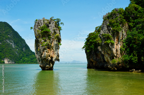 Spoed Foto op Canvas Eiland James bond Island or Khao Tapu In Phang Nga Bay Thailand