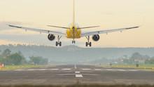 Landing Aircraft At The Airpor...