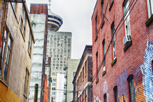 Old Alley In The Downtown Core...