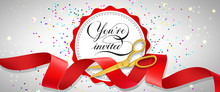 You Are Invited Festive Banner...