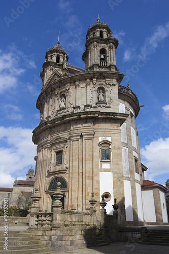 Church of La Pelegrina, Pontevedra, Galicia, Spain