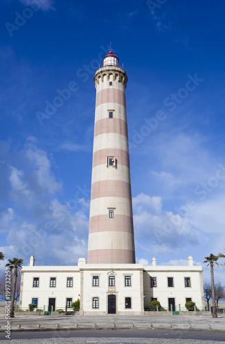 Fotografie, Obraz  Lighthouse in Aveiro, Portugal